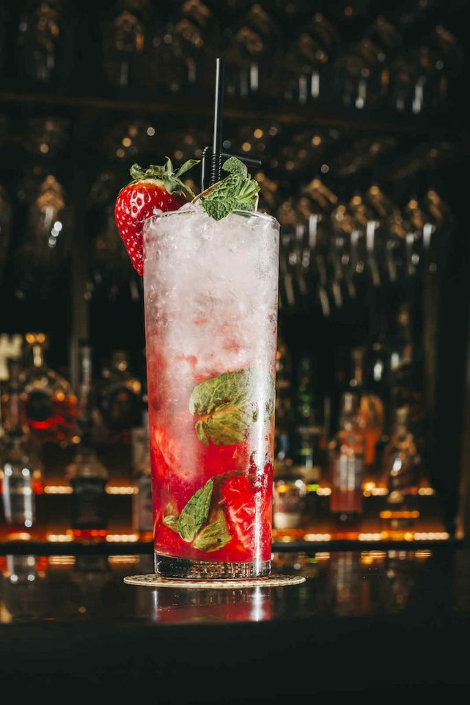 Cocktails do bar Digby, Torel Avantgarde